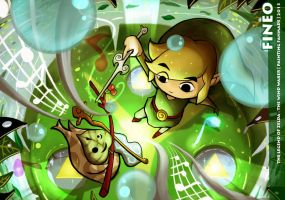 The Legend of Zelda : The Wind Waker by Fineoart