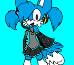 Tails As Miku Hatsune by TailsFox45