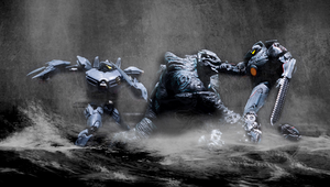 Striker and Gipsy VS Leatherback by phtoygraphy