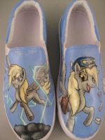 Derpy Hooves Custom Canvas Shoes by Acrylicolt