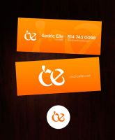 business card for sedric elle by sounddecor