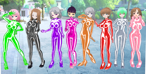 Ki ni Naru Roommate Bodysuits by quamp