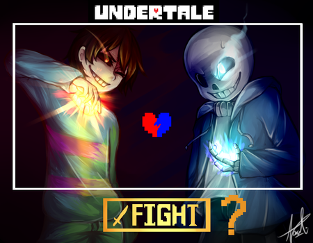UNDERTALE | Is it really necessary ? by unextii