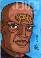 Teal'c by J-Dubi