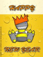 Happy New Year 2011 by deadcal