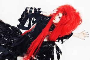 hide cosplay: NHK kohaku live II by cinq-pathetique