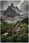 The storm comes to Dito di Dio by JamesRushforth