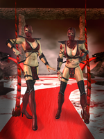 Skarlet Primary - Mortal Kombat 9 by romero1718