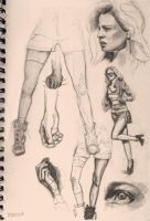 For a Change: Sketches by ReneAigner