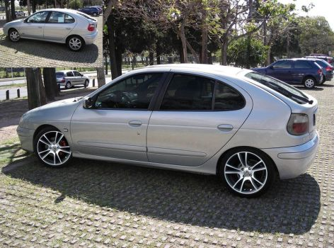Renault Megane 1 solid tuning by Pacee87