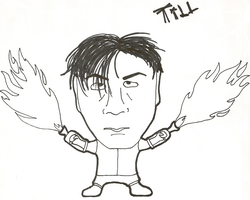 Caricature: Till by 0celluloid-dreamer0