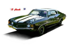 Chevy muscle by madmax2002