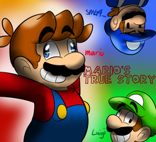 Mario's Very Accurate Story by raygirl12