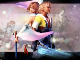 Final Fantasy X Spiral Love by Billysan291