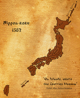 Ahistorical Japan - 1582 by SzklanyKruk