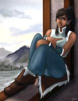 Korra by daPatches