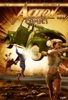ACTION COMICS No 1 REMAKE by isikol