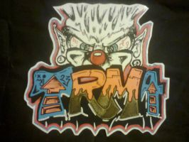 sticker with tagandface by mutanteg