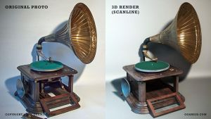 Gramophone by ogami3d