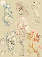 sketch dump vol.1 by Nutthead