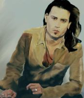 Johnny Depp by tribbs