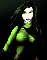 Shego Doodle by Aira90