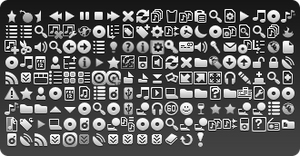 Light MediaMonkey 4 Token Icons by EvJo