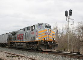 KCS 4606 at Joplin by labrat-78