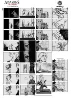 Assassin's Creed Liberation Storyboard by drazebot