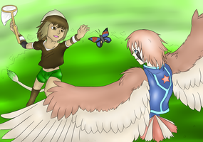 PG: Butterfly!! Cross-Faction Collab with Poke by Aki-rain