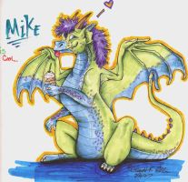 The Mikey Mike Dragon by SophieDragon