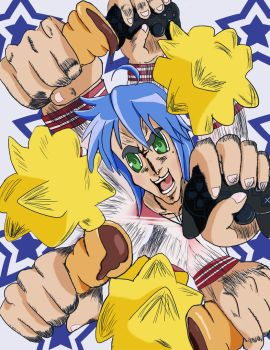 FIST OF THE LUCKY STAR by ProfesorTurrodowsky