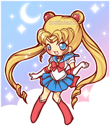 Sailor Moon by MoogleGurl