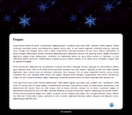 Frozen Snowflake Journal Skin *Installable* by kareynomer