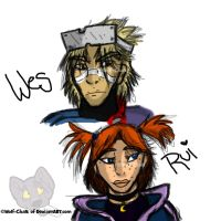 .:Wesley and Rui:.~ by Wolf-Chalk