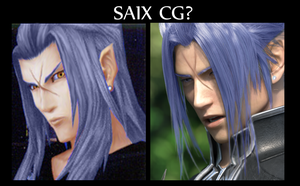 Saix in CG by Arlequinne
