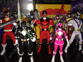 Power Rangers Toy Collection 016: Quantum Ranger by AnutDraws