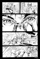 Inks - Ultimates II #1 page16 by Bryan Hitch by adr-ben