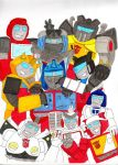 Autobots, SMILE by PurrV