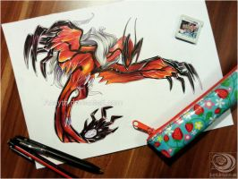 Yveltal - Original Auction -over- by Acayth