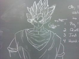 Goku (i think) by Waterbender1996