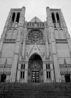 Grace Cathedral by cw-art-photography