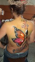 my body paint by Libertad-E-Y