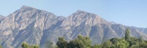 Panoramic Wasatch by skadiblue