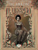 The Amazing Tatooed Lady 3-D conversion by MVRamsey