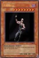 Furyan Riddick Card by EvoFurianSpartan
