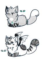 Cat Adoptables :3 [CLOSED] by Chrissi99