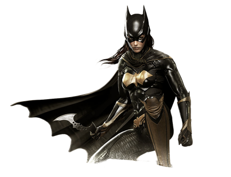 Arkham Knight - Batgirl Render by Spider-Man91