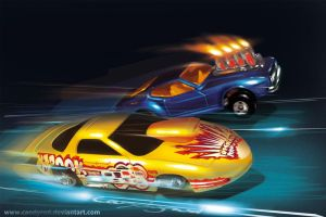 Hot Wheels VS Matchbox by candyrod