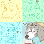 YCH SCARF ICONS [CLOSED] by nayuki910